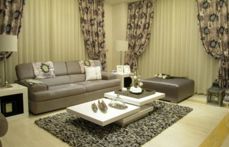 ست کردن پرده، مبلمان و فرش در دکوراسیون منزل