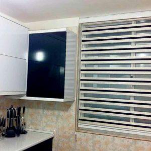 خرید اینترنتی پرده زبرا اتاق خواب و پذیرایی و آشپزخانه مدل اطلس