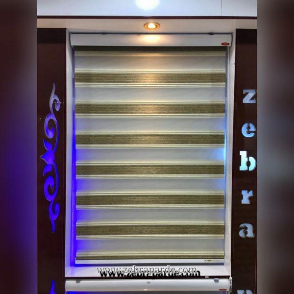 خرید اینترنتی پرده زبرا اتاق خواب و پذیرایی و آشپزخانه مدل پاتریس