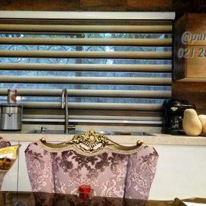 خرید اینترنتی پرده زبرا اتاق خواب و پذیرایی و آشپزخانه مدل سورن
