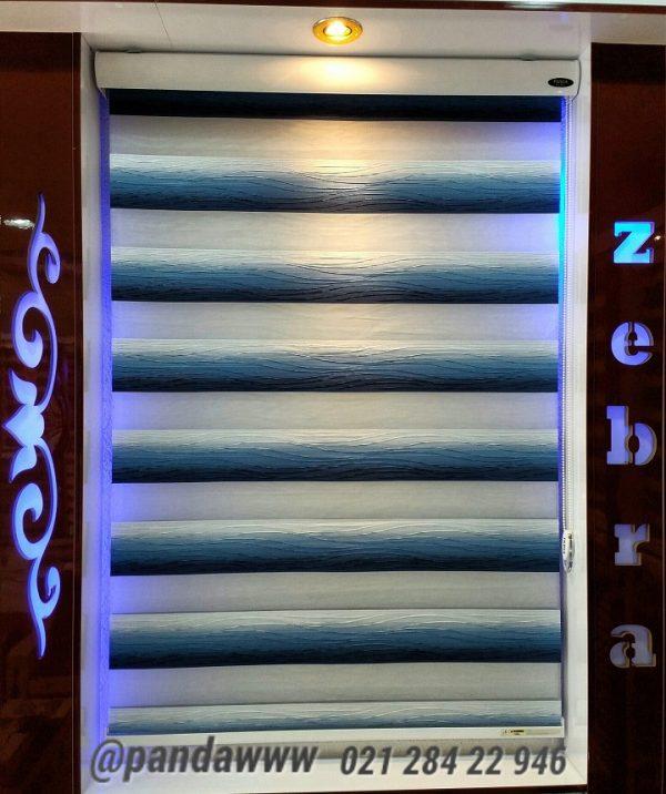 خرید اینترنتی پرده زبرا اتاق خواب و پذیرایی و آشپزخانه مدل گلدیس