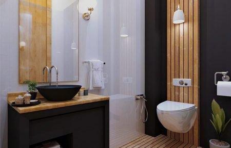 انواع پرده های حمام و دستشویی